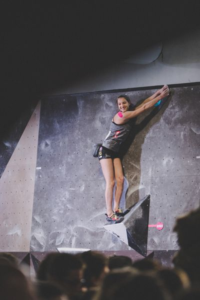 IFSC EUROPEAN YOUTH CUP BOULDER 2019 - Graz (AUT) 11th - 12th May 2019 / image shows: Rauth Jana (AUT)