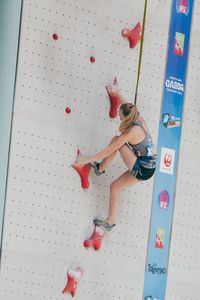 JUGEND-WM 2019 -\nIFSC CLIMBING YOUTH WORLD CHAMPIONSHIPS - Arco (ITA) 21-31 August 2019 / image shows:  Julia Lotz