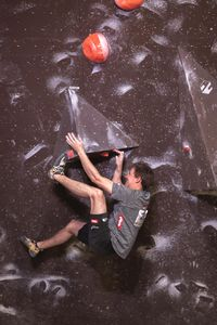 IFSC EUROPEAN YOUTH CUP BOULDER 2019 - Graz (AUT) 11th - 12th May 2019 / image shows: Neuwirth Roman (AUT)