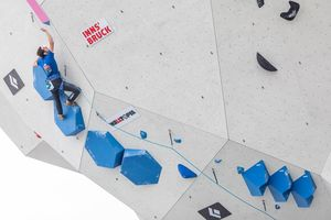 IFSC Climbing World Championships Innsbruck Tirol 2018 / Lead Qualification Men / 07.09.2018 / image shows: Romain Desgranges (FRA)