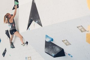 JUGEND-WM 2019 -\nIFSC CLIMBING YOUTH WORLD CHAMPIONSHIPS - Arco (ITA) 21-31 August 2019 / image shows: Mattea Pötzi