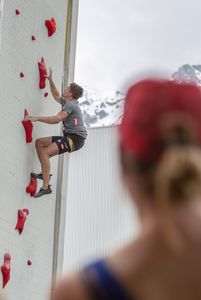 EUROPEAN CUP BOULDER & SPEED 2019 -Innsbruck (AUT) 2nd - 04th May 2019 / image shows: Tobias Plangger