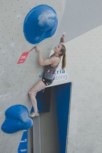 AUSTRIAN OPEN 2019 - Innsbruck (AUT) 13th - 16th June 2019 - BOULDER / image shows: Jessica Pilz