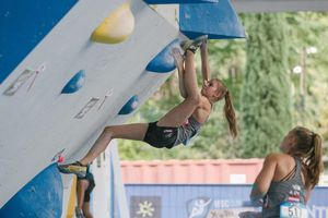 JUGEND-WM 2019 -\nIFSC CLIMBING YOUTH WORLD CHAMPIONSHIPS - Arco (ITA) 21-31 August 2019 / image shows: Lena Schrittwieser (NFÖ Mürzzuschlag)