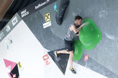 Innsbruck, AUT, 16.JULY.20 - AUSTRIA CLIMBING SUMMER SERIES 2020. Image shows HOFHERR ANDREAS (AUT). Photo: KVOE / ANDREAS AUFSCHNAITER