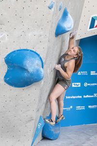 AUSTRIAN OPEN 2019 - Innsbruck (AUT) 13th - 16th June 2019 - BOULDER / image shows: Schoibl Celina