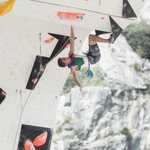 JUGEND-WM 2019 -\nIFSC CLIMBING YOUTH WORLD CHAMPIONSHIPS - Arco (ITA) 21-31 August 2019 / image shows: Filip Schenk (ITA)