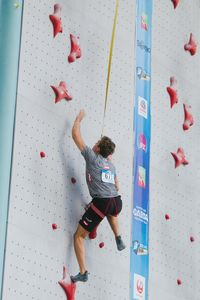 JUGEND-WM 2019 -\nIFSC CLIMBING YOUTH WORLD CHAMPIONSHIPS - Arco (ITA) 21-31 August 2019 / image shows: Tobias Plangger