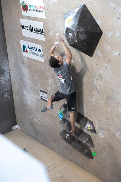 IFSC EUROPEAN YOUTH CUP BOULDER 2019 - Graz (AUT) 11th - 12th May 2019 / image shows: Bogeschdorfer Lawrence (AUT)