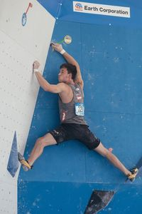 JUGEND-WM 2019 -\nIFSC CLIMBING YOUTH WORLD CHAMPIONSHIPS - Arco (ITA) 21-31 August 2019 / image shows: Nicolai Uznik