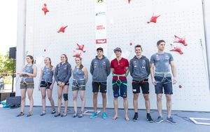 AUSTRIAN OPEN 2019 - Innsbruck (AUT) 13th - 16th June 2019 / image shows: finalists
