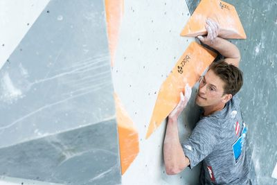 Innsbruck, AUT, 16.JULY.20 - AUSTRIA CLIMBING SUMMER SERIES 2020. Image shows PARMA GEORG (AUT). Photo: KVOE / ANDREAS AUFSCHNAITER