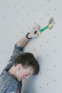 JUGEND-WM 2019 -\nIFSC CLIMBING YOUTH WORLD CHAMPIONSHIPS - Arco (ITA) 21-31 August 2019 / image shows: Thomas Podolan