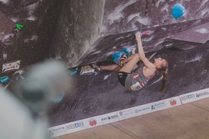 IFSC EUROPEAN YOUTH CUP BOULDER 2019 - Graz (AUT) 11th - 12th May 2019 / image shows: Schrittwieser Lena (AUT)