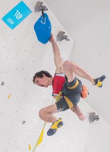Adam Ondra of Czech Republic during Qualification of Men Lead for the IFSC Climbing World Championships 2018. Innsbruck, Austria, 07 September 2018