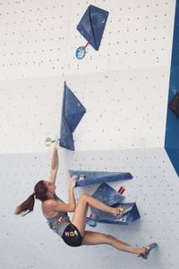 JUGEND-WM 2019 -\nIFSC CLIMBING YOUTH WORLD CHAMPIONSHIPS - Arco (ITA) 21-31 August 2019 / image shows: Jana Rauth (ÖAV Imst-Oberland)