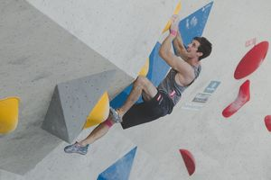 AUSTRIAN OPEN 2019 - Innsbruck (AUT) 13th - 16th June 2019 - BOULDER / image shows: Alfons Dornauer