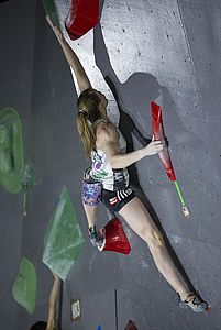 IFSC Boulder Worldcup Hachioji/Japan 2018\rJune 2nd and 3rd 2018\rPic Shows: Franziska Sterrer