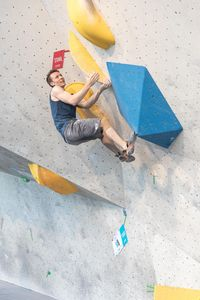 AUSTRIAN OPEN 2019 - Innsbruck (AUT) 13th - 16th June 2019 - BOULDER QUALIFIKATION / image shows: Elias Weiler