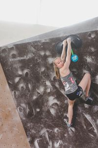 IFSC EUROPEAN YOUTH CUP BOULDER 2019 - Graz (AUT) 11th - 12th May 2019 / image shows: Lotz Julia (AUT)