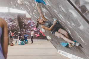 IFSC EUROPEAN YOUTH CUP BOULDER 2019 - Graz (AUT) 11th - 12th May 2019 / image shows: Jenewein Mona (AUT)