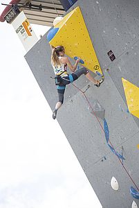 IFSC Climbing Worldcup Briancon/FRA 2018\nLead Qualification\n\nPic shows: