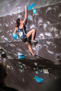 IFSC EUROPEAN YOUTH CUP BOULDER 2019 - Graz (AUT) 11th - 12th May 2019 / image shows: BERTONE Oriane (FRA)
