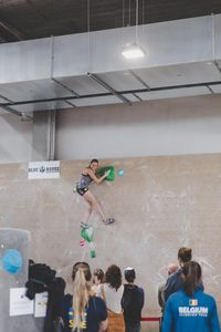 IFSC EUROPEAN YOUTH CUP BOULDER 2019 - Graz (AUT) 11th - 12th May 2019 / image shows: Hammelmüller Eva-Maria (AUT)