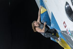 Innsbruck, AUT, 16.JULY.20 - AUSTRIA CLIMBING SUMMER SERIES 2020. Image shows LETTNER SANDRA (AUT). Photo: KVOE / ANDREAS AUFSCHNAITER