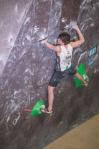 Graz (AUT), EUROPEAN YOUTH CUP BOULDER 2018 - image shows: