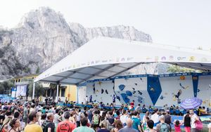 JUGEND-WM 2019 -\nIFSC CLIMBING YOUTH WORLD CHAMPIONSHIPS - Arco (ITA) 21-31 August 2019 / image shows: venue