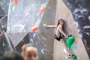 IFSC EUROPEAN YOUTH CUP BOULDER 2019 - Graz (AUT) 11th - 12th May 2019 / image shows: 58 — Schrittwieser Lena (AUT)