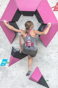 AUSTRIAN OPEN 2019 - Innsbruck (AUT) 13th - 16th June 2019 - BOULDER QUALIFIKATION / image shows: Schwaiger Berit