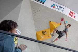 EUROPEAN CUP BOULDER & SPEED 2019 -Innsbruck (AUT) 2nd - 04th May 2019 / image shows: ALFONS DORNAUER