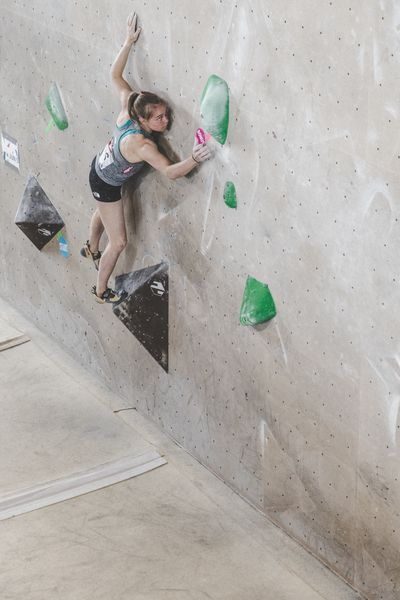 IFSC EUROPEAN YOUTH CUP BOULDER 2019 - Graz (AUT) 11th - 12th May 2019 / image shows: Pötzi Mattea (AUT)