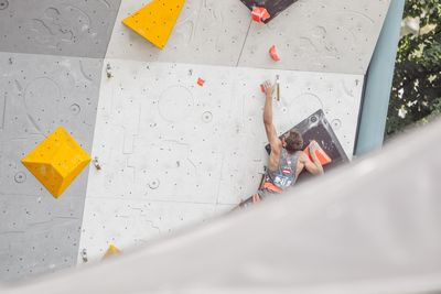 JUGEND-WM 2019 -\nIFSC CLIMBING YOUTH WORLD CHAMPIONSHIPS - Arco (ITA) 21-31 August 2019 / image shows: Stefan Scherz