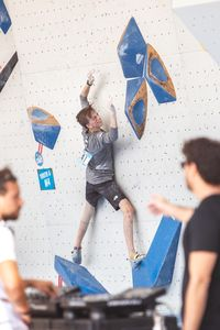 JUGEND-WM 2019 -\nIFSC CLIMBING YOUTH WORLD CHAMPIONSHIPS - Arco (ITA) 21-31 August 2019 / image shows: Thomas Podolan (AUT)