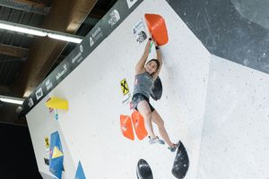 Innsbruck, AUT, 16.JULY.20 - AUSTRIA CLIMBING SUMMER SERIES 2020. Image shows FÄRBER JOHANNA (AUT). Photo: KVOE / ANDREAS AUFSCHNAITER