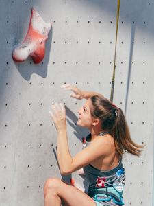 JUGEND-WM 2019 -\nIFSC CLIMBING YOUTH WORLD CHAMPIONSHIPS - Arco (ITA) 21-31 August 2019 / image shows: Jana Rauth