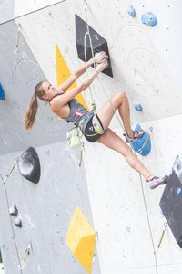 JUGEND-WM 2019 -\nIFSC CLIMBING YOUTH WORLD CHAMPIONSHIPS - Arco (ITA) 21-31 August 2019 / image shows: Eva Maria Hammelmüller