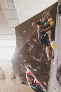IFSC EUROPEAN YOUTH CUP BOULDER 2019 - Graz (AUT) 11th - 12th May 2019 / image shows: 108 — Wimmer Julian (AUT)