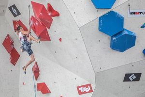 IFSC Climbing World Championships Innsbruck Tirol 2018 / Lead Qualification Men / 07.09.2018 / image shows: Georg Parma (AUT)
