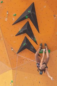 JUGEND-WM 2019 -\nIFSC CLIMBING YOUTH WORLD CHAMPIONSHIPS - Arco (ITA) 21-31 August 2019 / image shows: Luce Douady (FRA)
