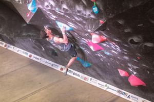 IFSC EUROPEAN YOUTH CUP BOULDER 2019 - Graz (AUT) 11th - 12th May 2019 / image shows: Uznik Nicolai (AUT)