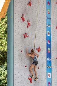 JUGEND-WM 2019 -\nIFSC CLIMBING YOUTH WORLD CHAMPIONSHIPS - Arco (ITA) 21-31 August 2019 / image shows: Schrittwieser Lena (NFÖ Mürzzuschlag)