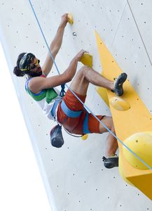 Paraclimbing Features during the Para Climbing qualification for the IFSC Climbing World Championships 2018. Innsbruck, Austria, 12 September 2018