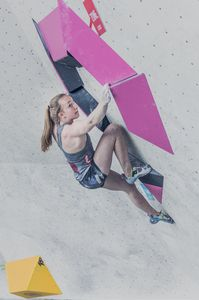 AUSTRIAN OPEN 2019 - Innsbruck (AUT) 13th - 16th June 2019 - BOULDER QUALIFIKATION / image shows: Julia Lotz