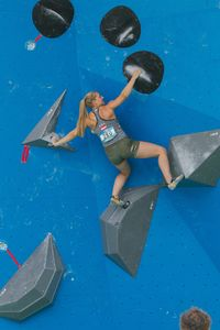 JUGEND-WM 2019 -\nIFSC CLIMBING YOUTH WORLD CHAMPIONSHIPS - Arco (ITA) 21-31 August 2019 / image shows: Celina Schoibl