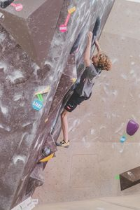 IFSC EUROPEAN YOUTH CUP BOULDER 2019 - Graz (AUT) 11th - 12th May 2019 / image shows: 104 — Kirchmair Robin (AUT)