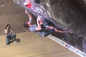 IFSC EUROPEAN YOUTH CUP BOULDER 2019 - Graz (AUT) 11th - 12th May 2019 / image shows: Gundolf Louis (AUT)